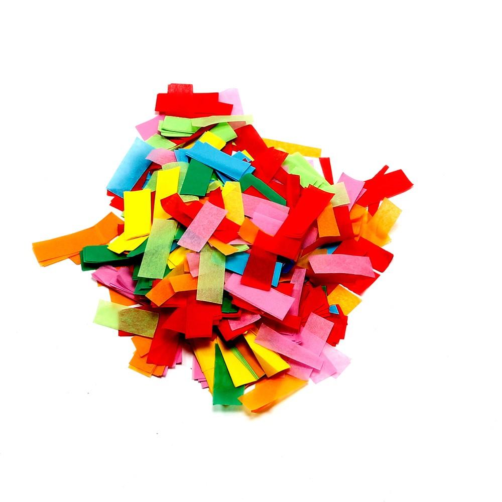 Image of   Papir konfetti Hvid