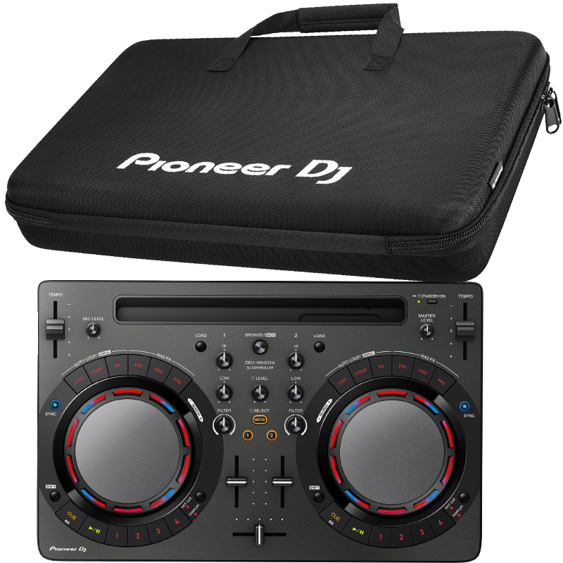 Pioneer DDJ-WEGO4-K/ Bag bundle