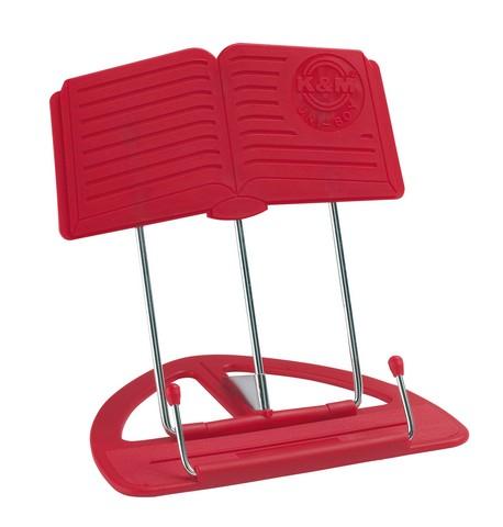 K&M nodestativ rød, kasse med 12 stk