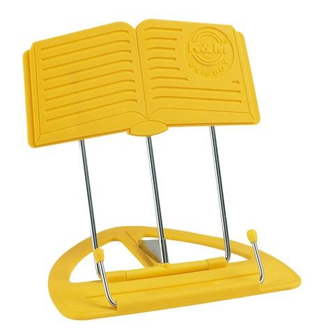 K&M nodestativ gul, kasse med 12 stk