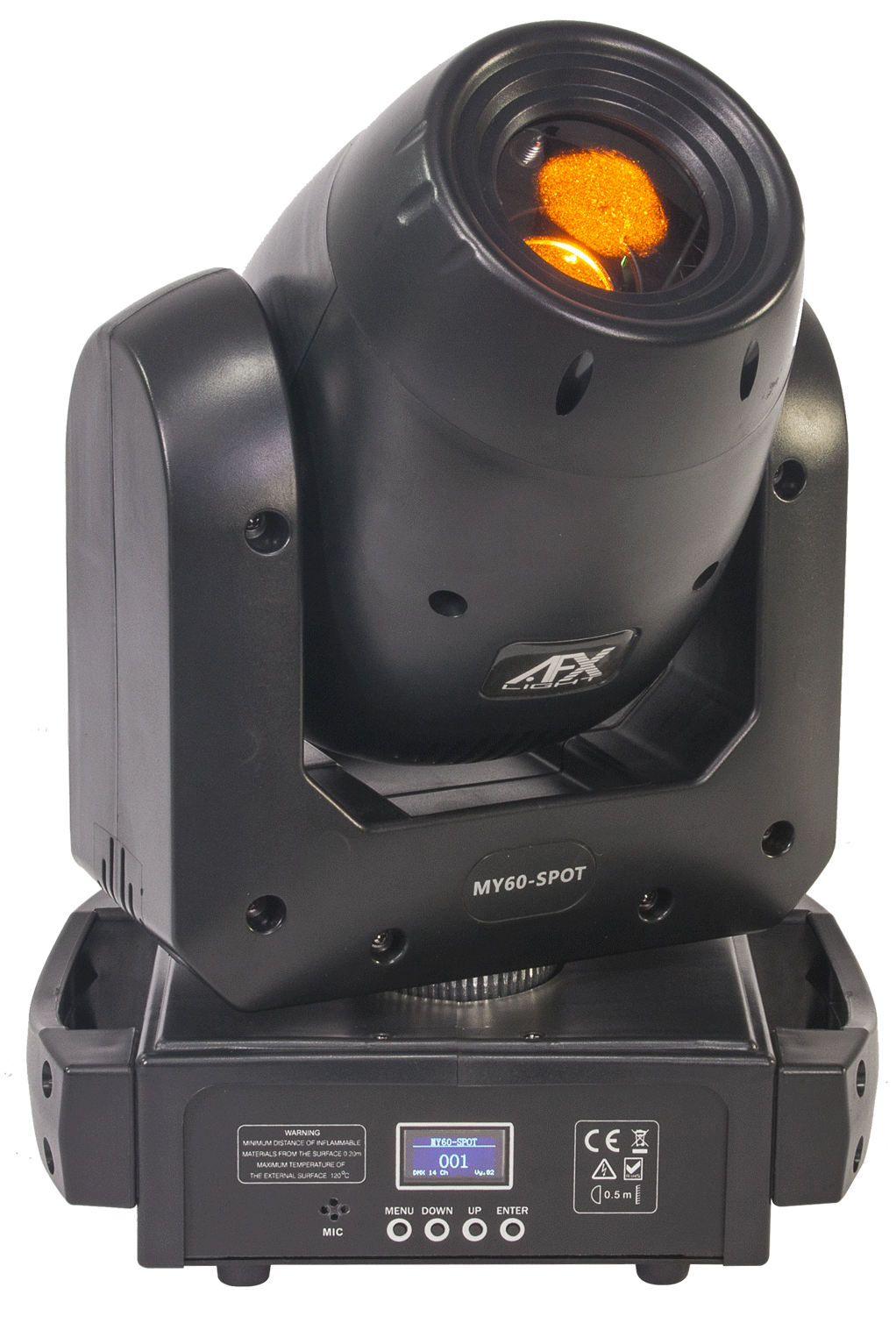 Image of   AFX MY60 Moving Head 60 Watt