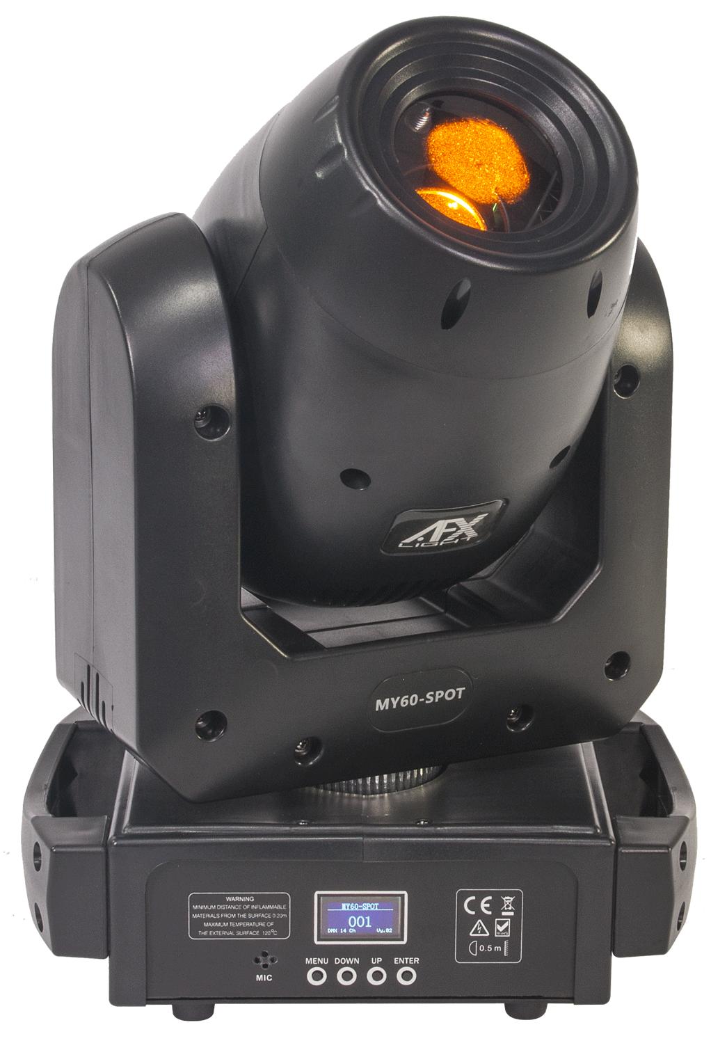 Image of   AFX MY60 Moving Head 60 Watt