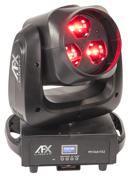 AFX LED Moving head Wash-Beam-Graphic