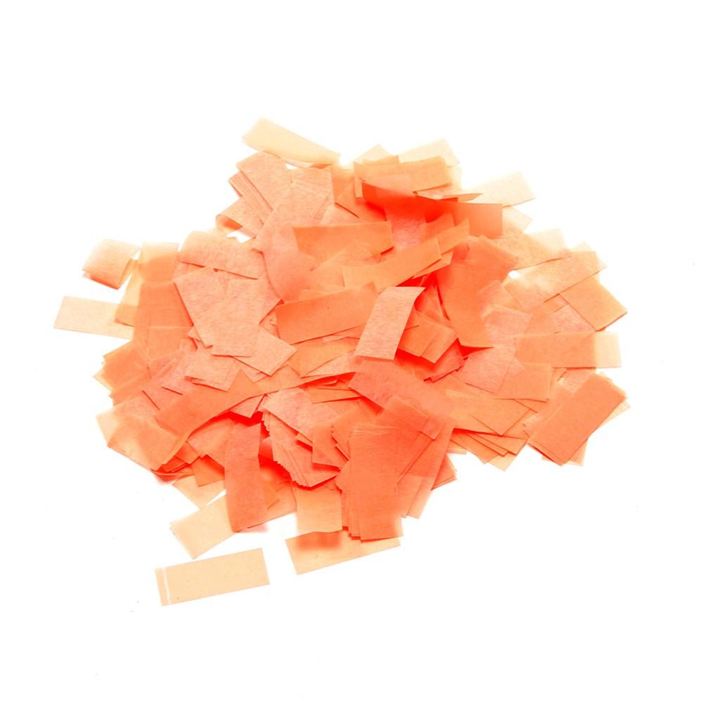 Image of   UV aktiv Papir konfetti Orange (UV aktiv)
