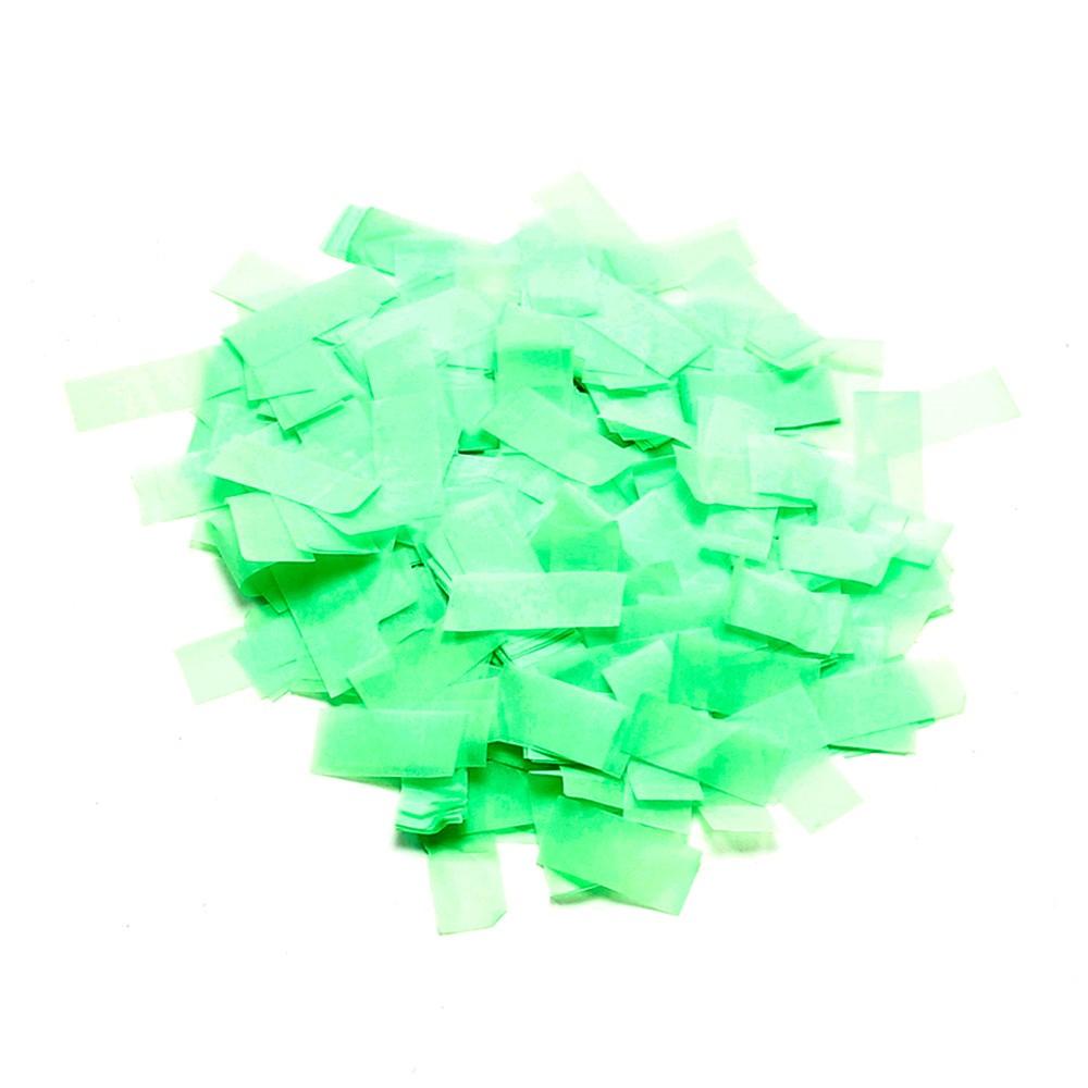 Image of   UV aktiv Papir konfetti Grøn (UV aktiv)