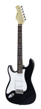 DiMavery ST-203 El-Guitar LH, Sort