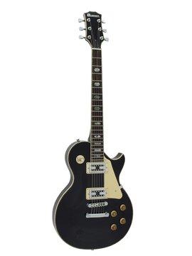 DiMavery LP-700 El-Guitar, Sort
