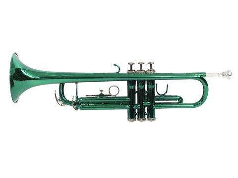DiMavery TP-10 Bb Trumpet, green