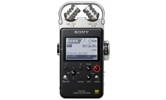 Sony PCM-D100/1 portable audio recorder