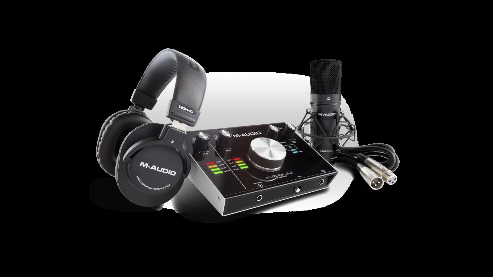 Image of   M-Audio M-Track 2X2 Vocal Studio Pro