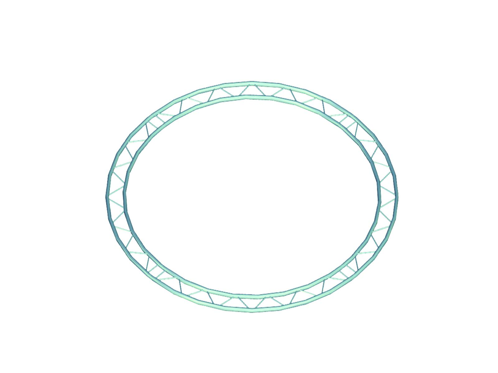 Alutruss BILOCK circle d=6m (inside) horizontal