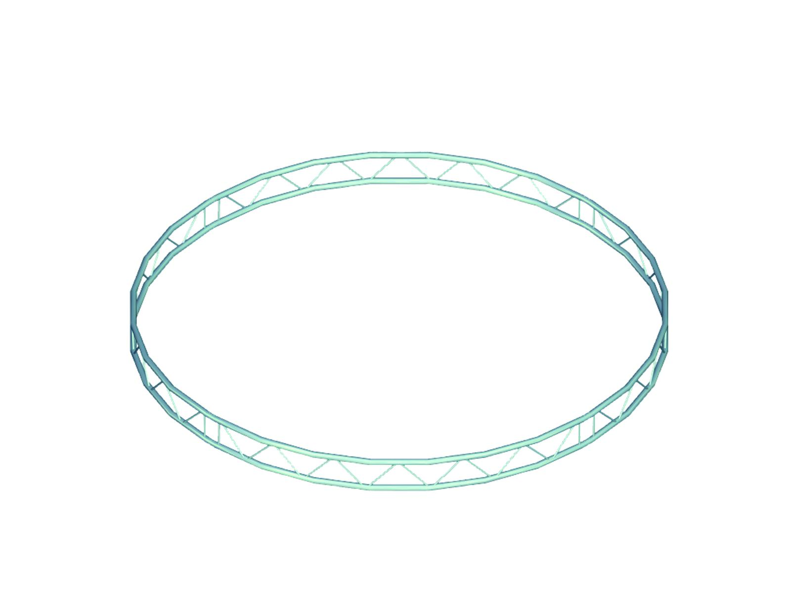 Alutruss BILOCK circle d=6m (inside) vertical