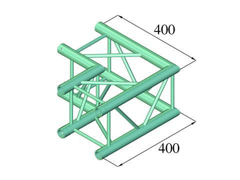 Alutruss DECOLOCK DQ4-PAC21 2-way corner 90°