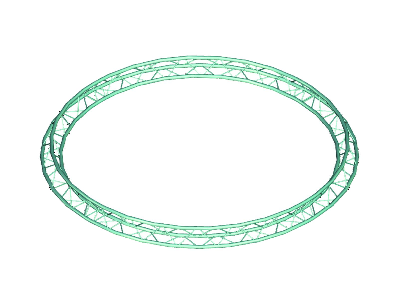 Image of   Alutruss TRILOCK 6082 circle d=4m (inside) /\4tg