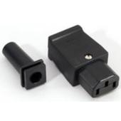 Strøm Stik IEC Apparat Hun (1 stk.)