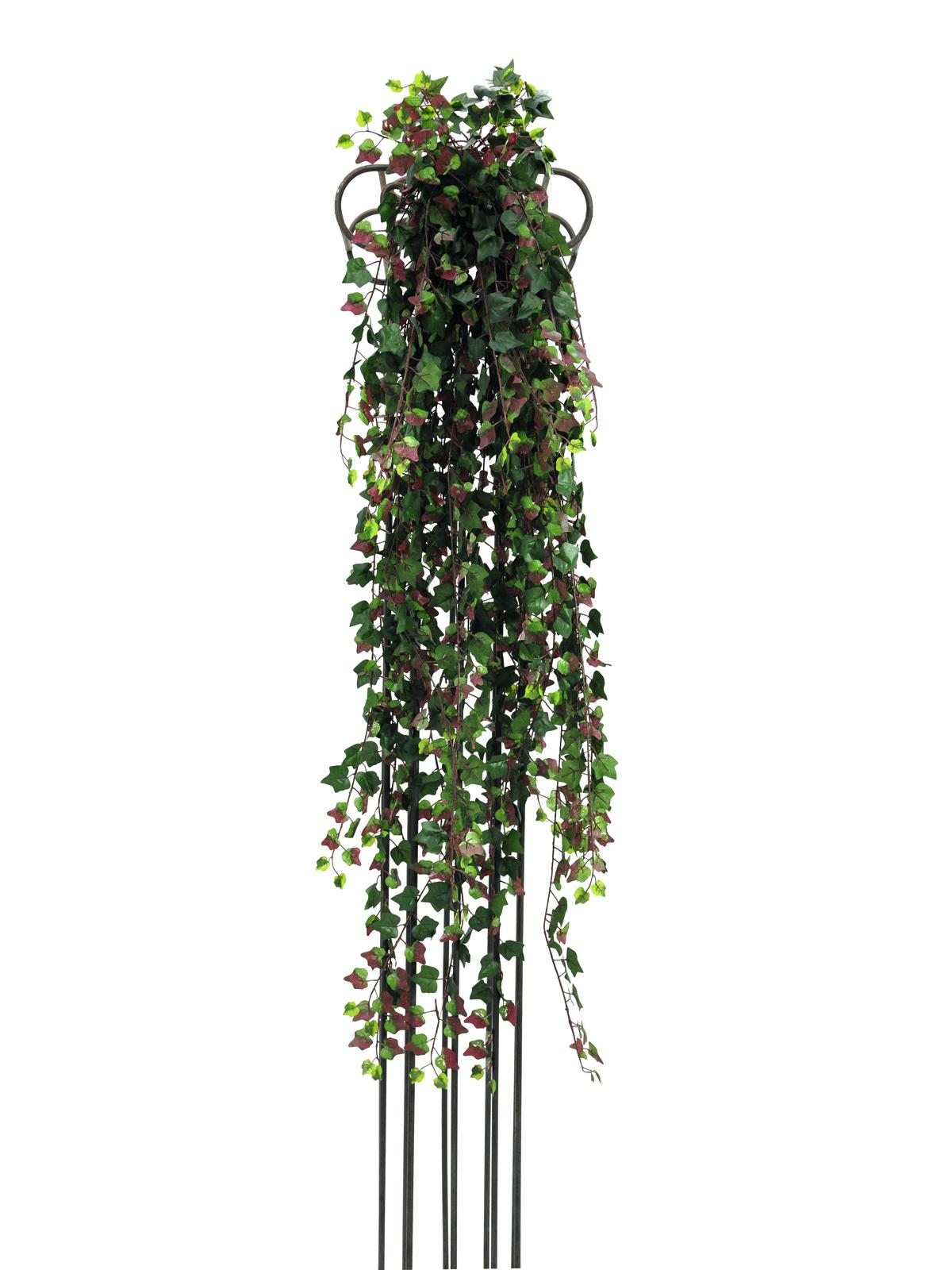 Kunstig  Deluxe ivytendril, green-red 160cm
