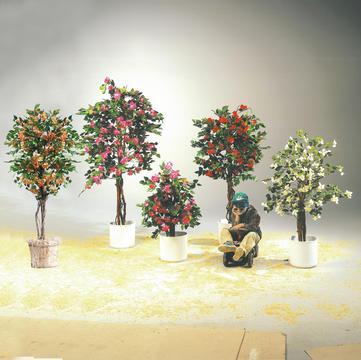 Billede af Kunstig Bougainvillea, lavender, 180cm