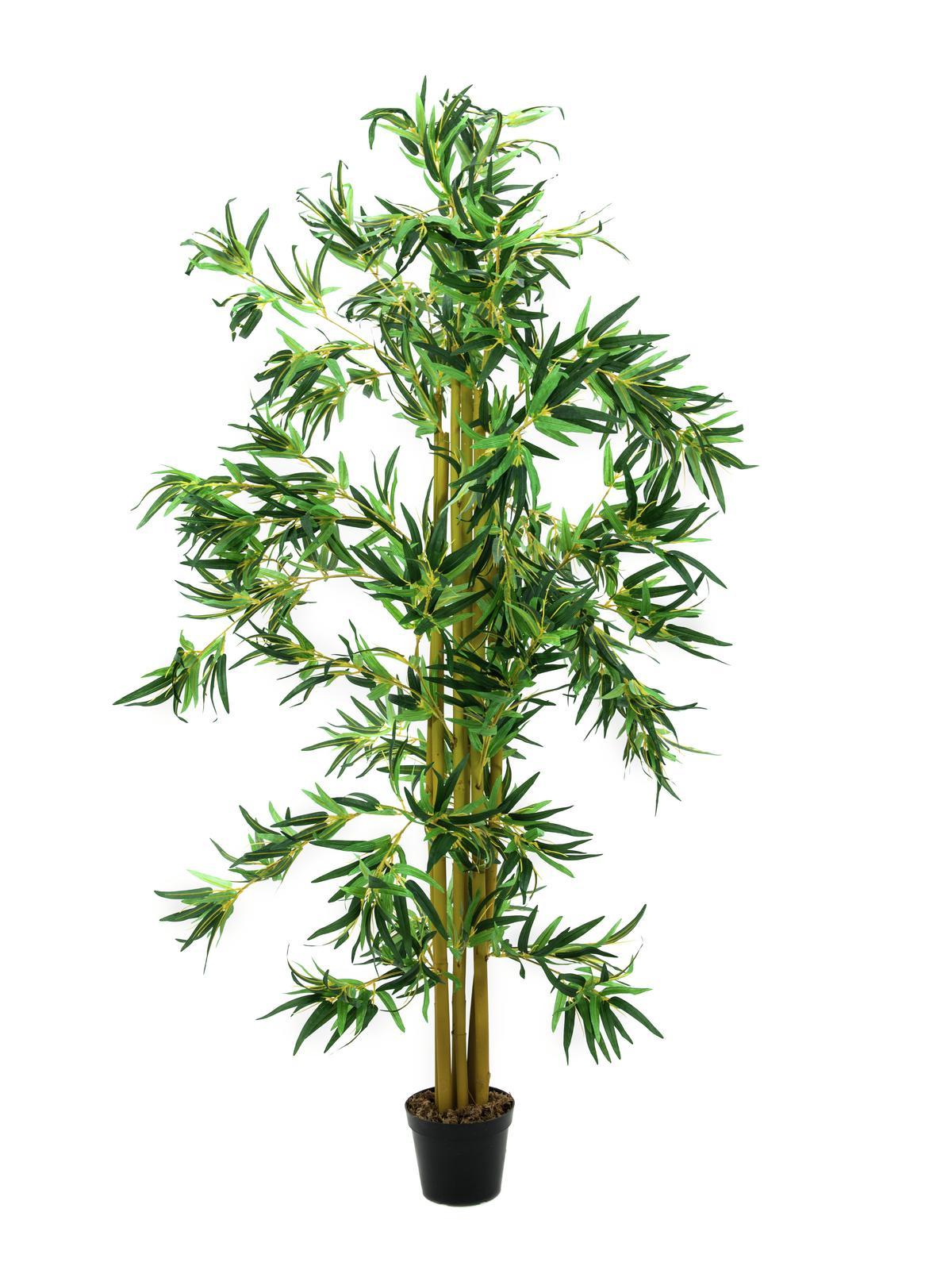 Image of   Kunstig Bambus multi-stammer, 210 cm