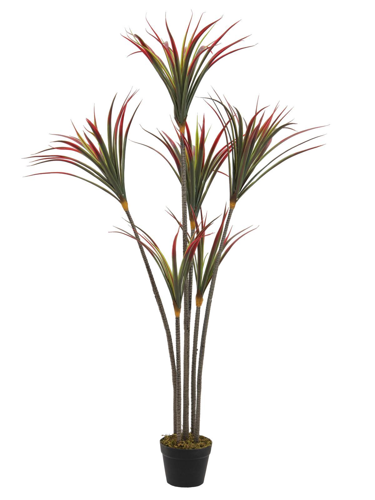 Image of   Kunstig Yucca Palme med stamme 150cm