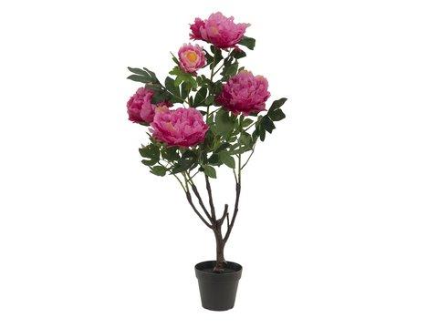 Europalms Peonies, rose, 90cm