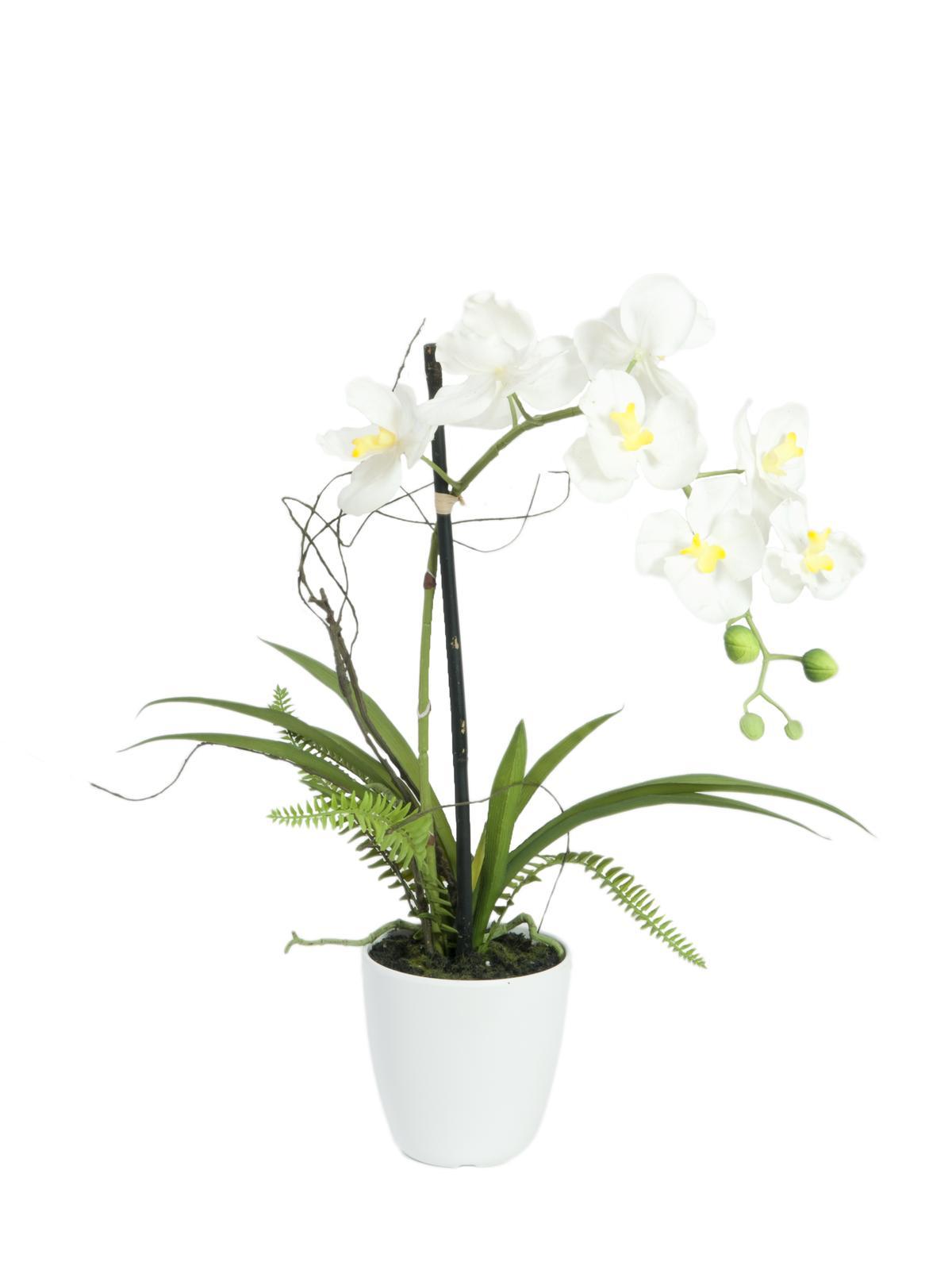 Kunstig  Orkide i potte