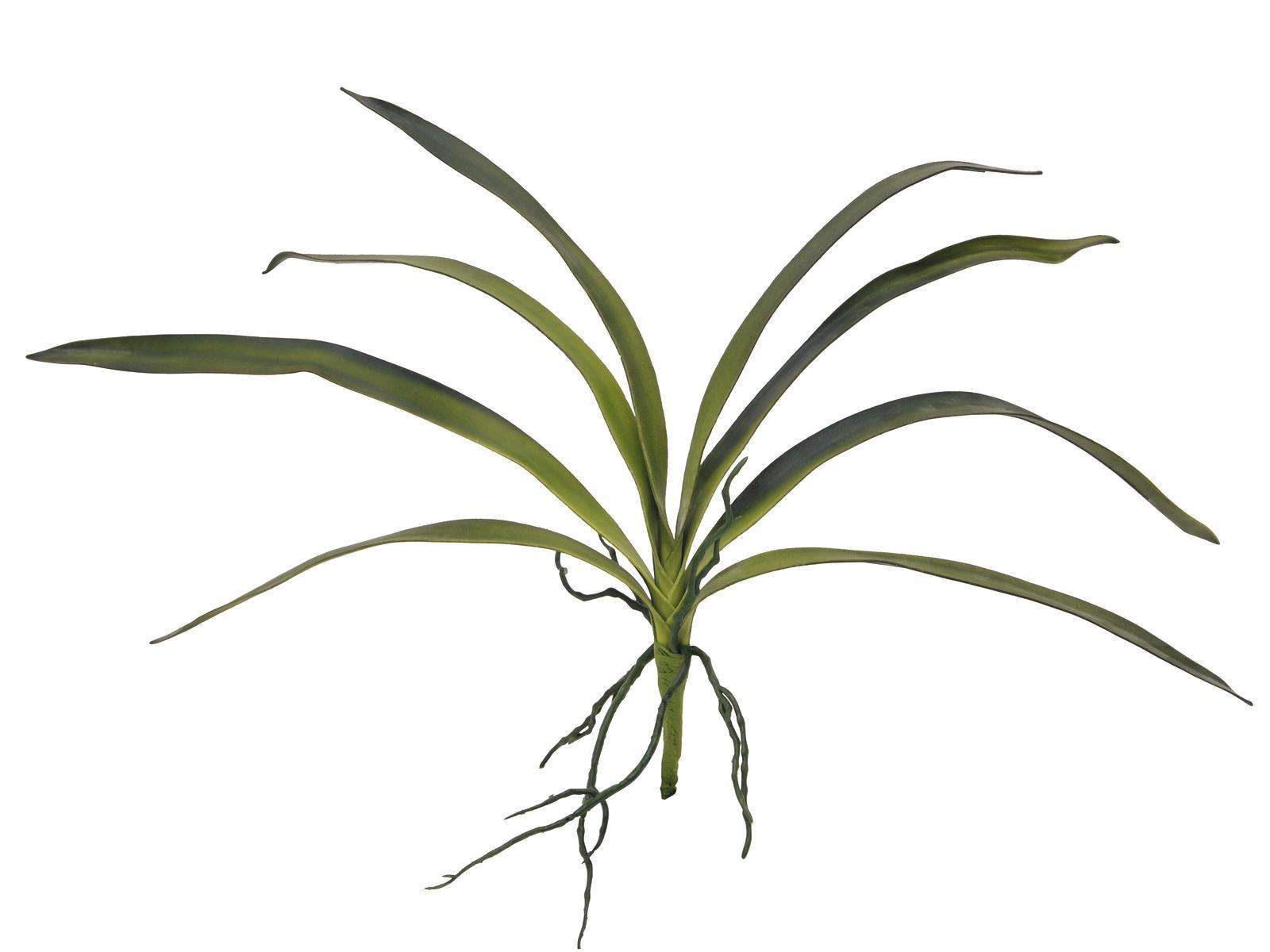 Kunstig  Orkidé Blade, Grøn, 45cm