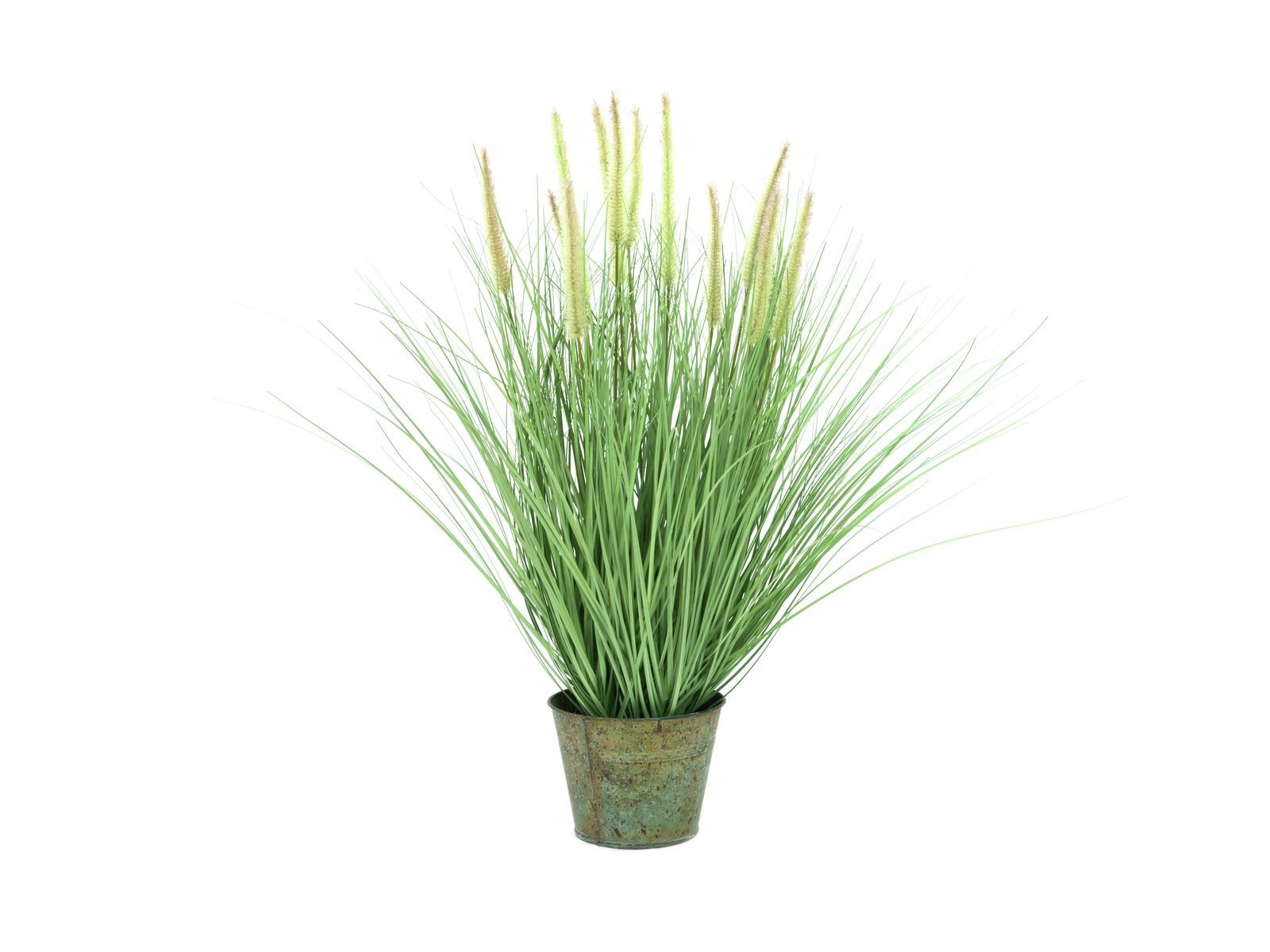Kunstig  Dekorativ blomstrende Græs, 70cm