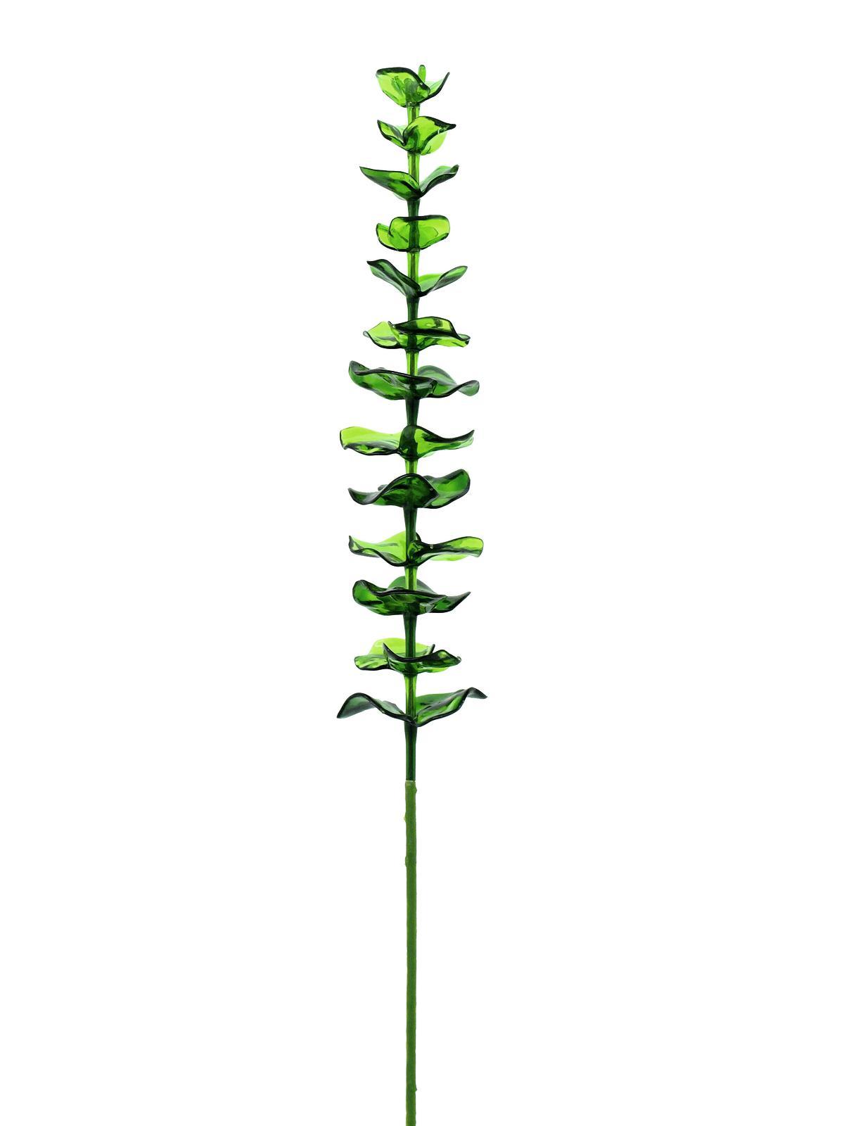 Kunstig  Crystal eucalyptus, Grøn, 81cm, 12stk