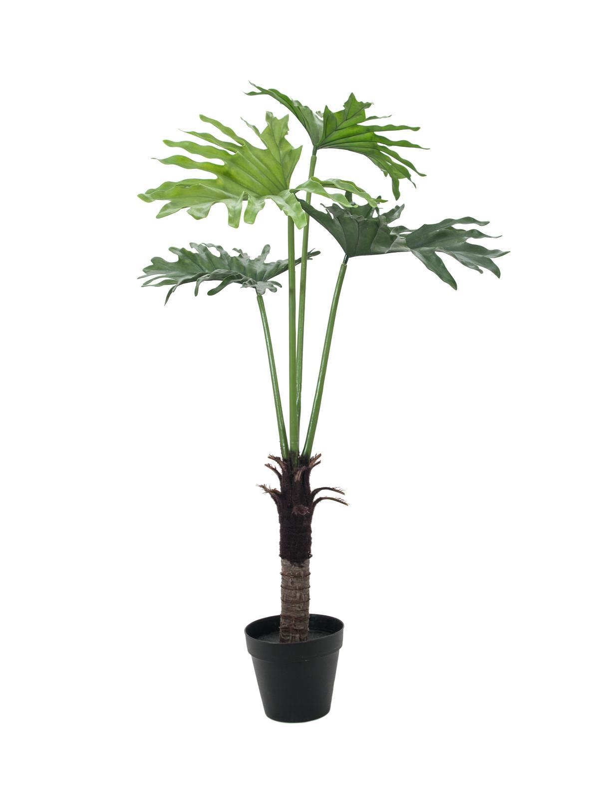 Billede af Kunstig Split Philo Plante, 120cm