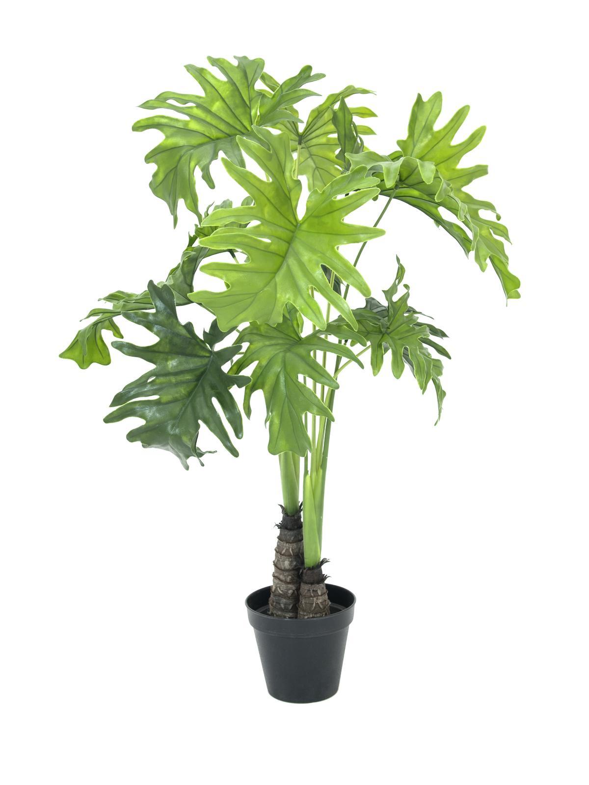 Billede af Kunstig Split Philo Plante, 90cm
