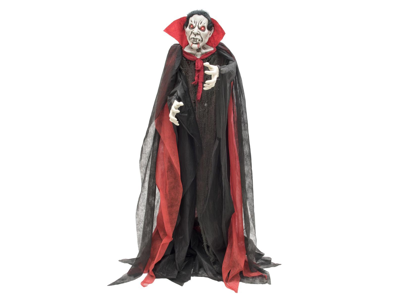 Image of   Halloween animeret vampyr, stående, 180 cm
