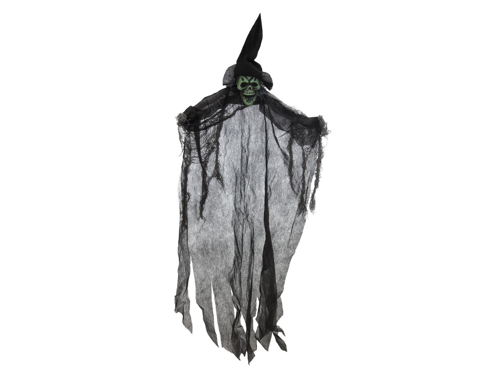 Image of   Halloween sort spøgelsesheks, 60 cm