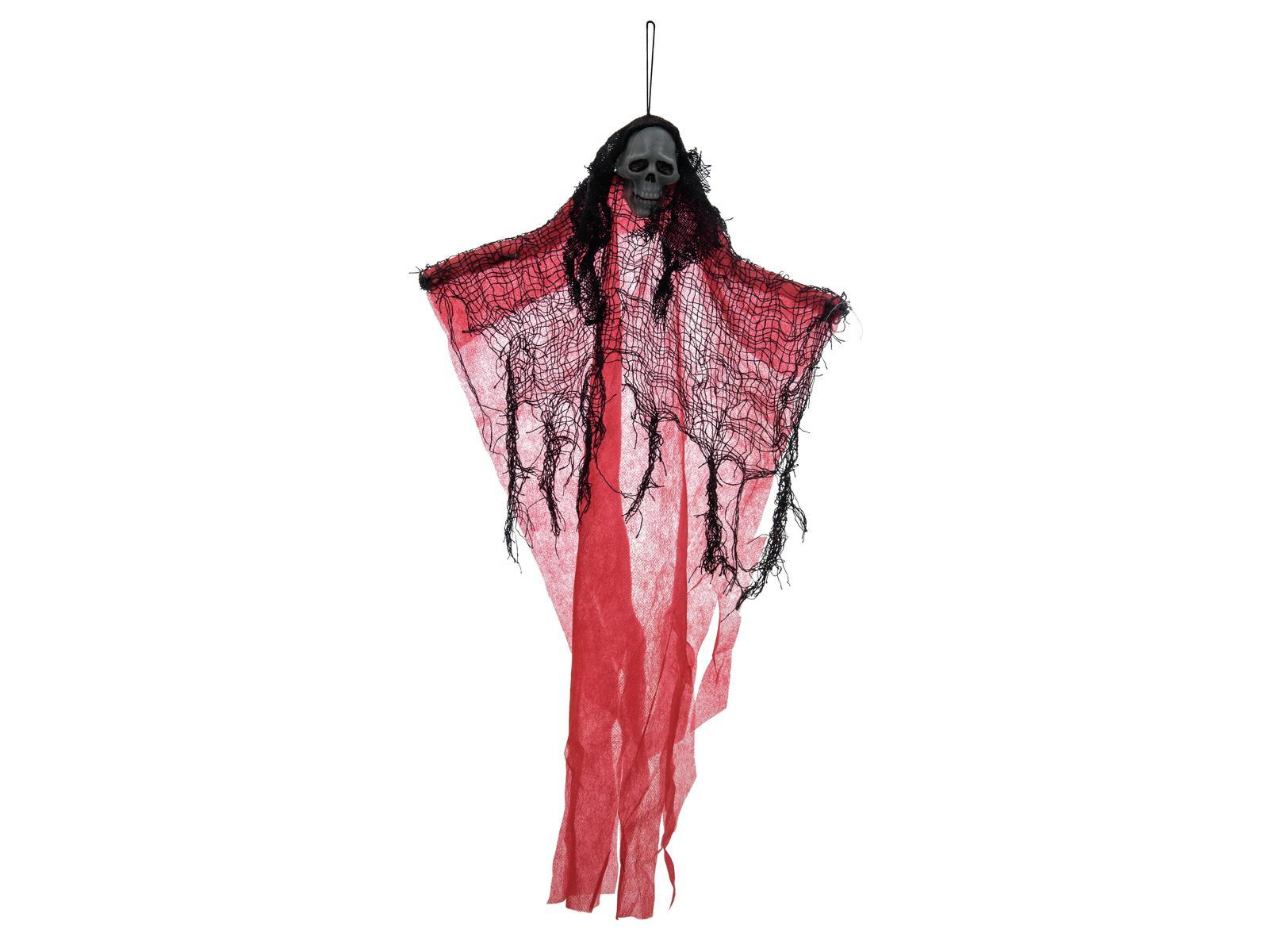 Image of   Halloween rødt spøgelse, 60 cm