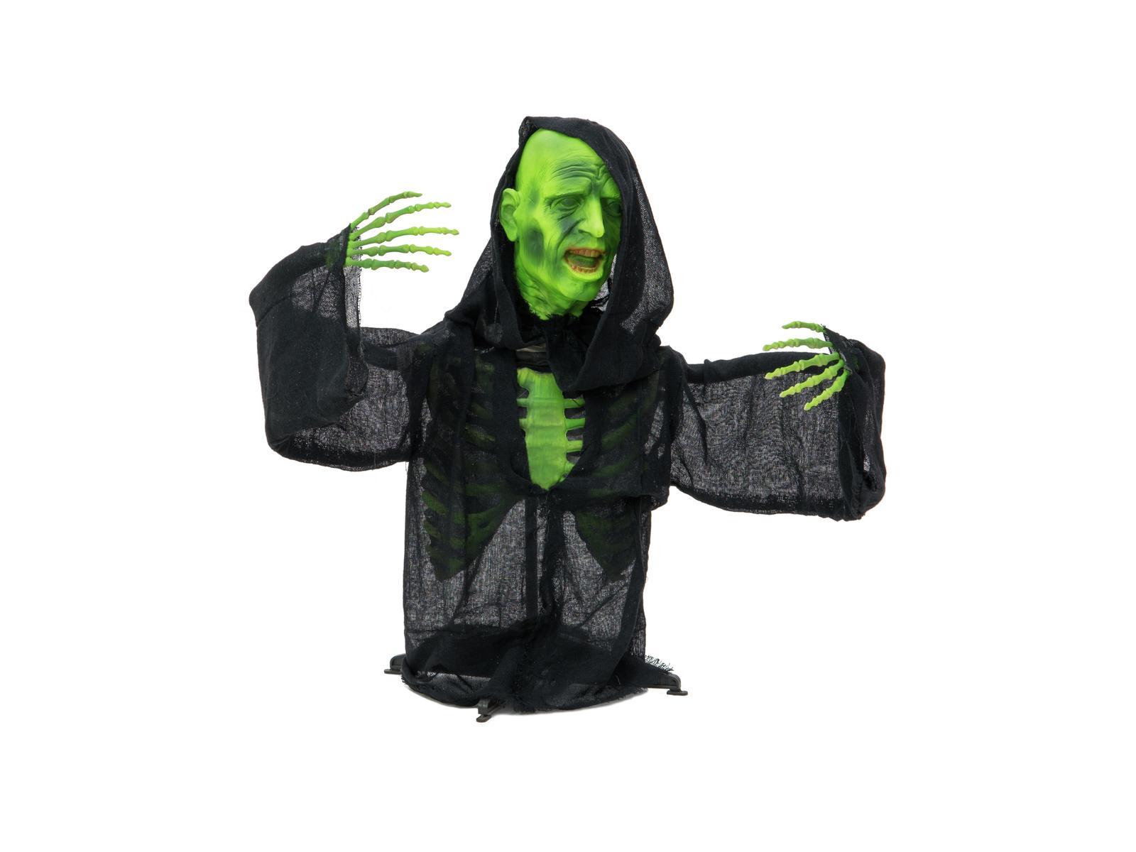 Image of   Halloween grøn zombi, 73 cm