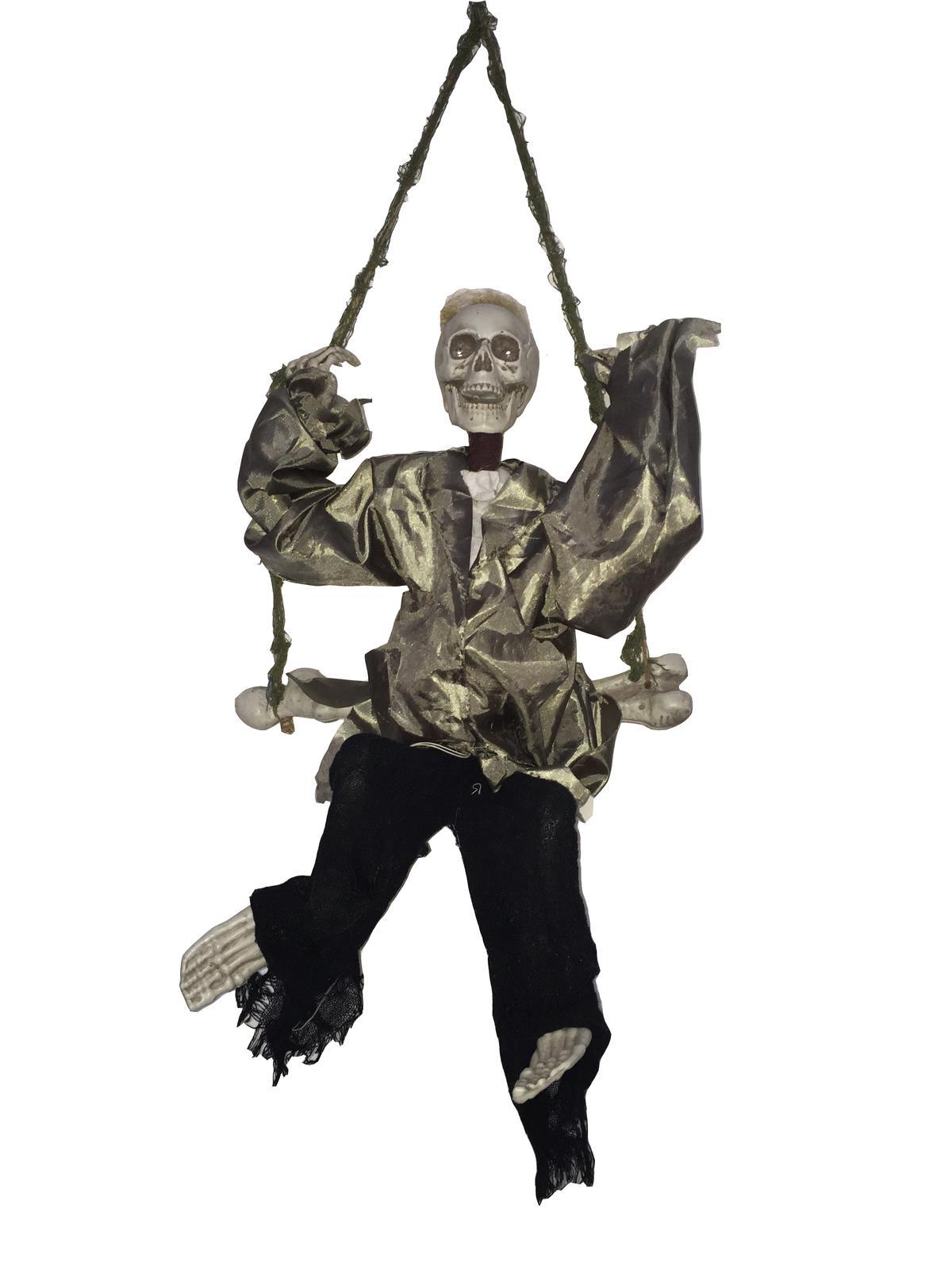 """Image of   Halloween animeret """"den gyngende død"""""""