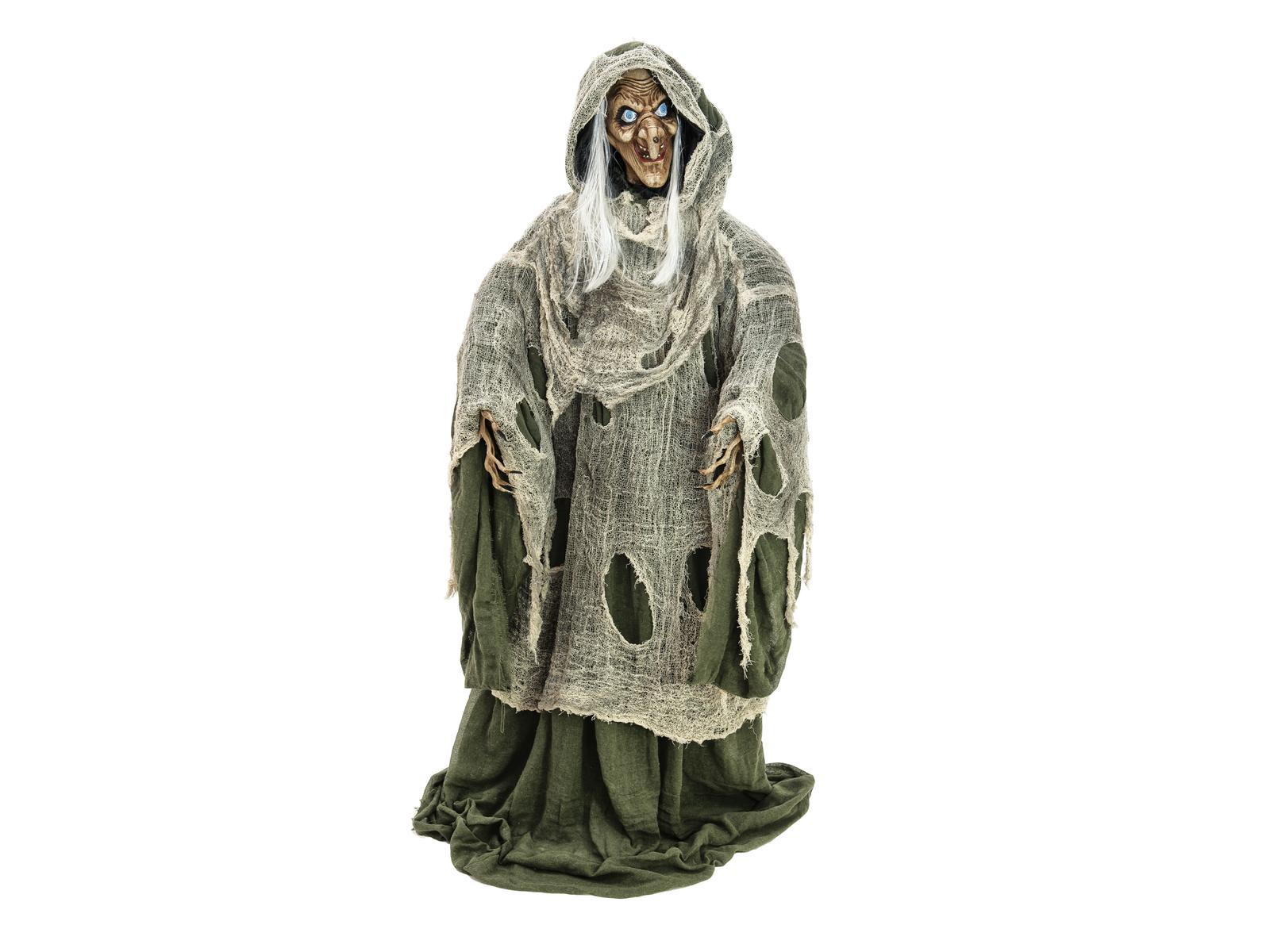 Image of   Halloween animeret den onde heks, 175 cm