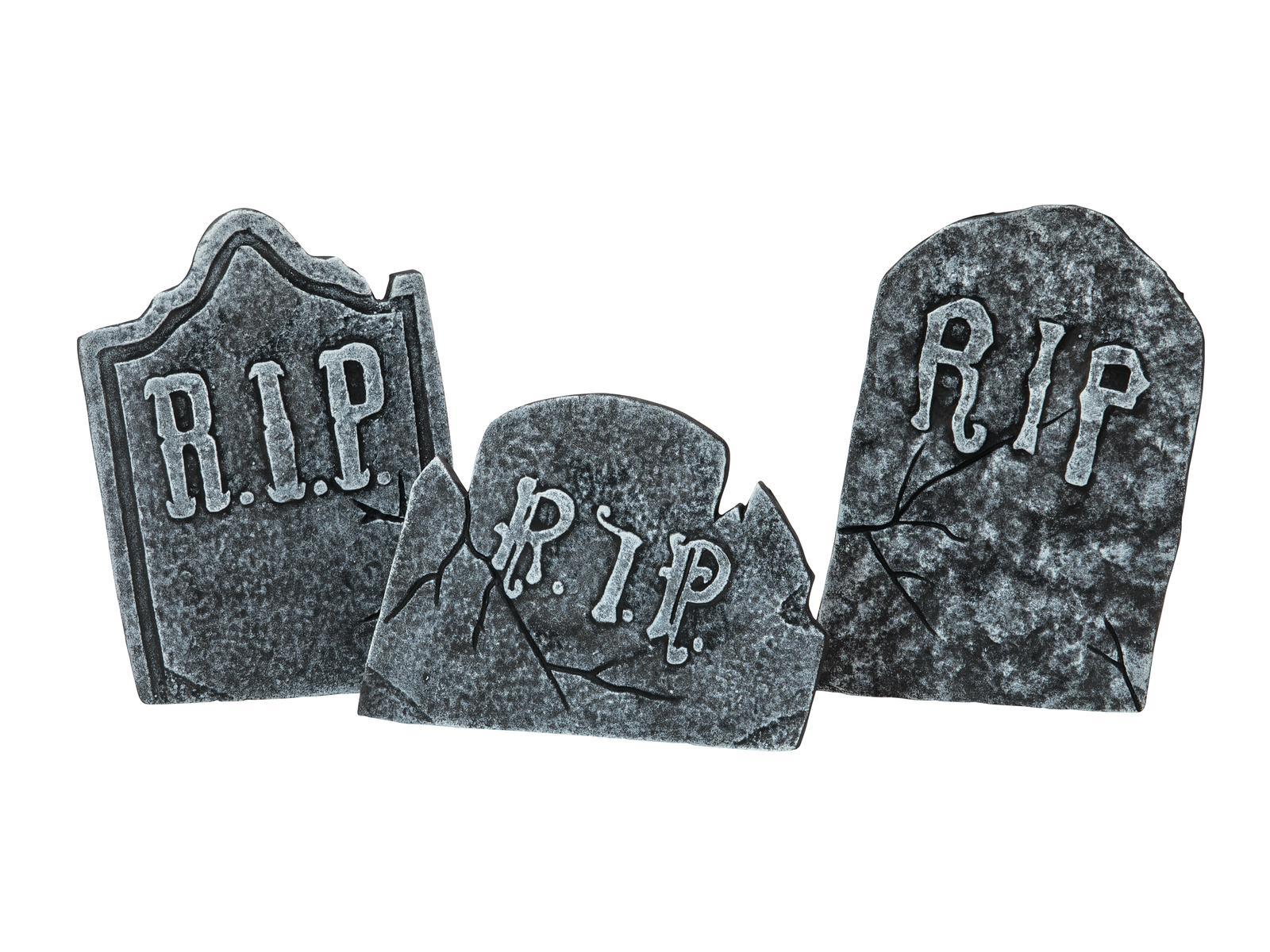 Image of   Halloween gravsten sæt