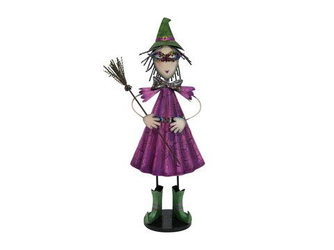 Image of   Little Witch, Metal, 102cm purple