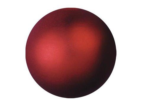 Deco Ball 3,5cm, red, metallic 48x
