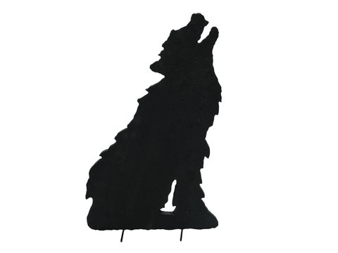 Image of   Silhouette Wolf, 63cm