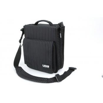 Image of   UDG Ultimate CD SlingBag 258 Black/Grey Stripe