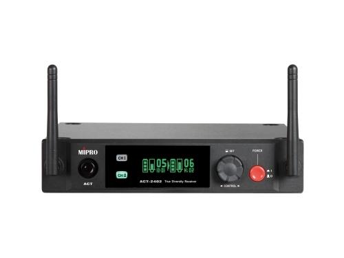 Mipro Digital modtager 2 kanaler 2,4 GHz