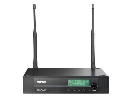 Mipro trådløs mikrofon modtager ACT311 1 kanal  - 823-831MHz