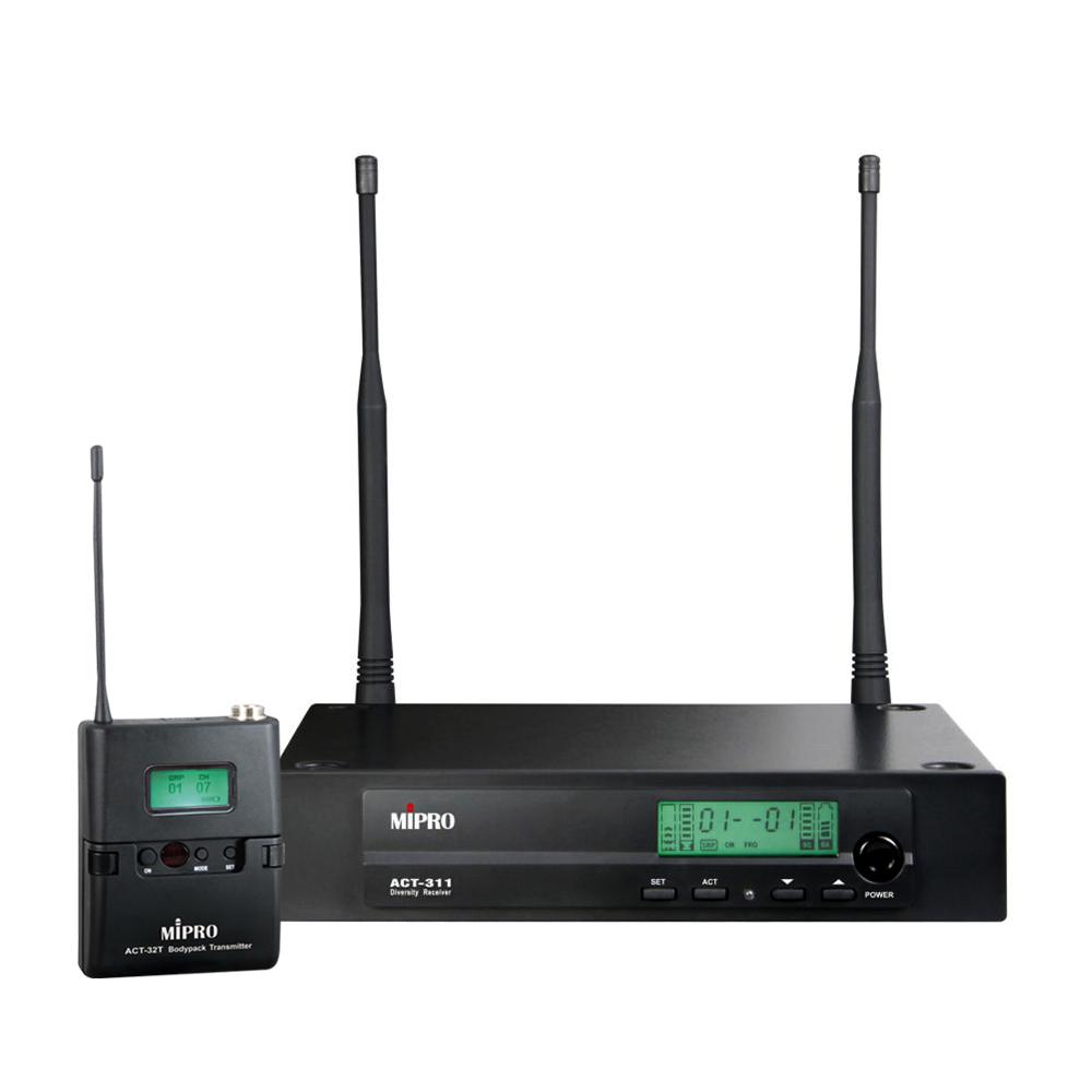 Mipro trådløs mikrofonsæt ACT311 med lommesender