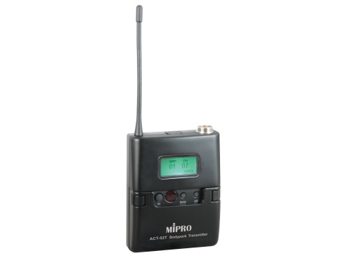 Mipro mikrofon lommesender ACT52T frekv.6A = 620-644 MHz