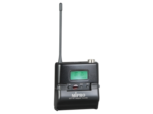 Mipro ACT70T wideband lommesender frekv. 554-626MHz