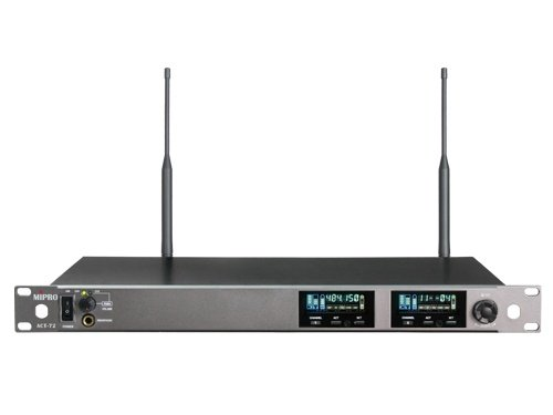 Mipro wideband modtager 2-kanals frekv. 626-698MHz