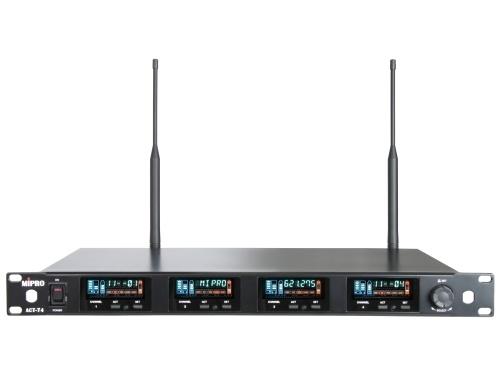 Image of   Mipro wideband modtager 4 kanal frekv. 482-554MHz