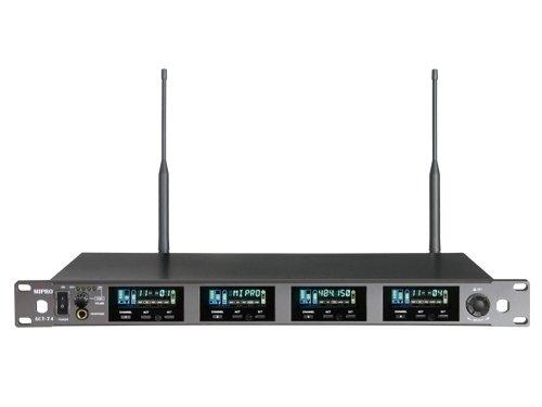 Mipro wideband modtager 4 kanal frekv. 626-698MHz