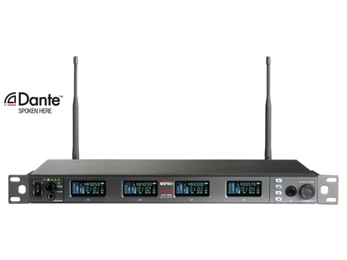 Mipro Trådløs mikrofon modtager digital ACT848 - 540-604 MHz
